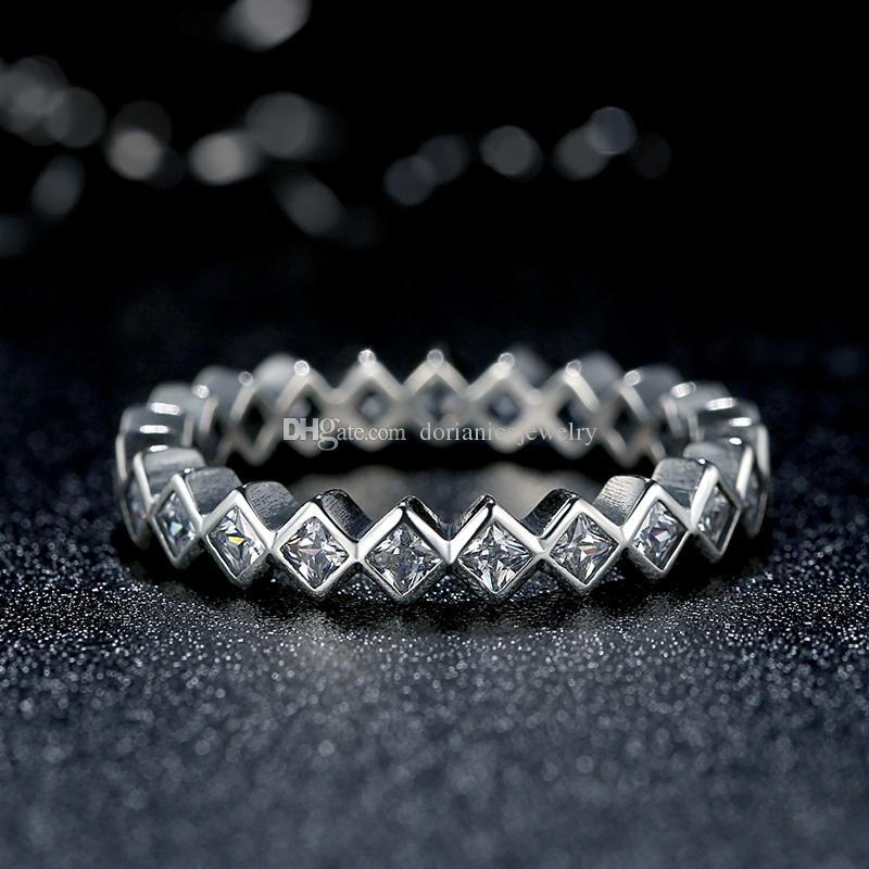 Alluring Brilliant Princess Ring