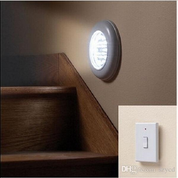 Wireless Ceiling Wall Light with Remote Control Switch Stairs Hallway ...