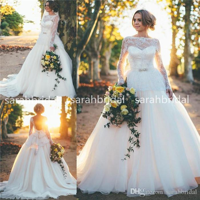 Rustic Country Plus Size Wedding Dresses - Evening Wear