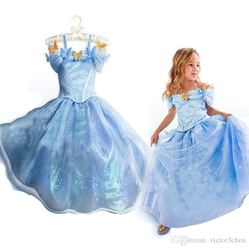 Best 2015 New Design Little Girl Princess Dress Children Girls ...