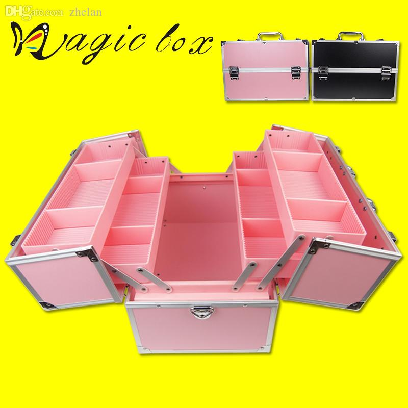 box cosmetics multilayer large suitcase nail art makeup lockable storage box box special box art boxes storage online with - Lockable Storage Box