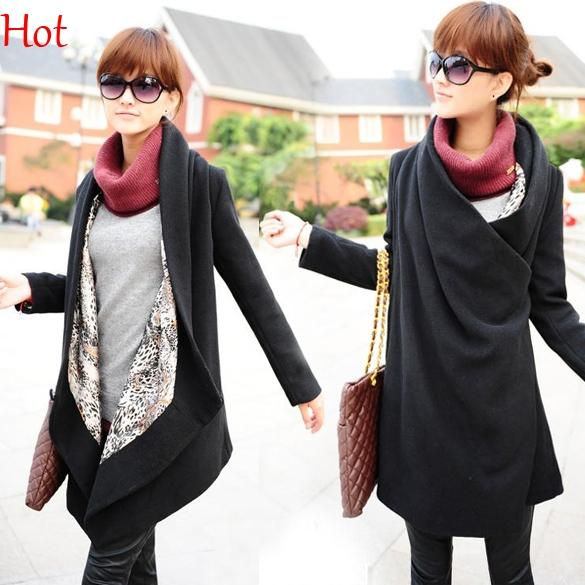 2017 2015 New Stylish Fashion Winter Coats Women Casual Outwear ...