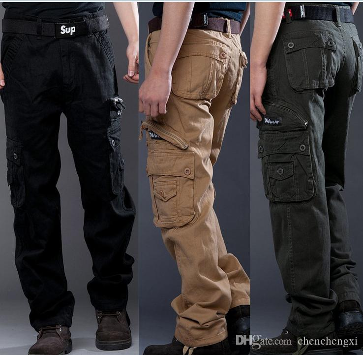 Discount 2015 Men'S Fashion Cargo Pants Military Camouflage Pants ...