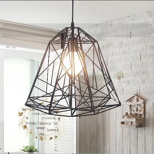 Modern design wholesale creative iron article bar pendant - Suspension style industriel ...