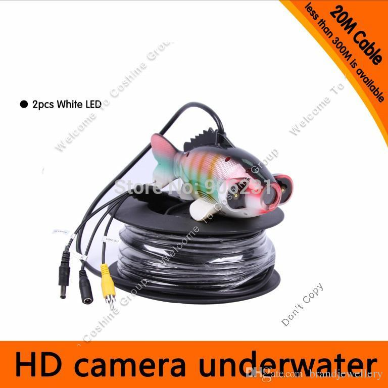 20m waterproof underwater fishfinder ocean/ice fishing finder led, Fish Finder