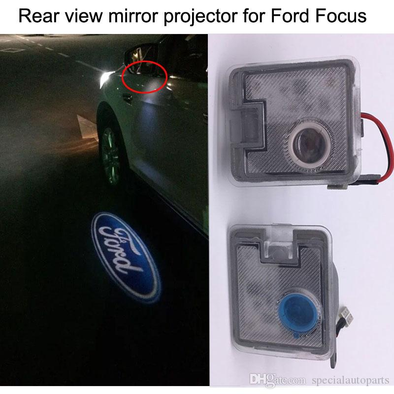 2017 2016 newest rear view mirror projector logo light for for Mirror projector