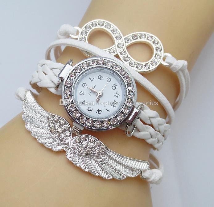 Girl Bracelets Watch Angle'S Wing Quartz Watch Friendship