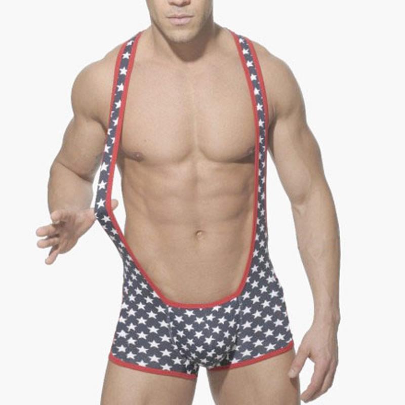2016 New Mens Sexy Underwear Bodysuit One Piece Gay Men Underwear ...