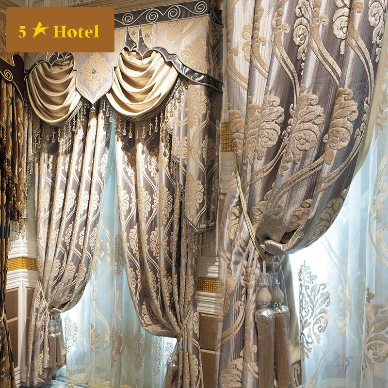 Curtain draping styles