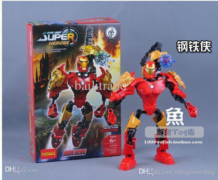 Super Hero Toys For Boys : Wholesale new the sexy super hero action robot toys