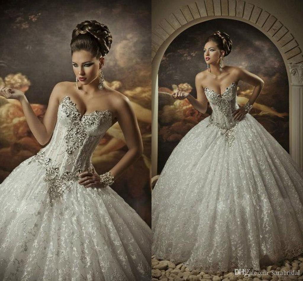 ball gown cathedral wedding dress rhinestone wedding dress ball gown cathedral wedding dress