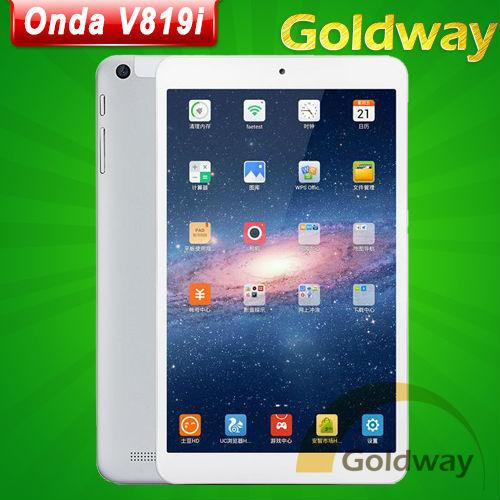 Origine Onda V819i Tablet PC Intel 3735E Quad Core 8,0 pouces 1280X800 Android 4