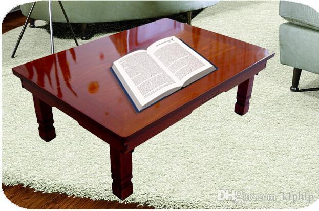 2017 Korean Coffee Table Folding Legs Rectangle 80 60cm Asian Antique Living Room Furniture Low