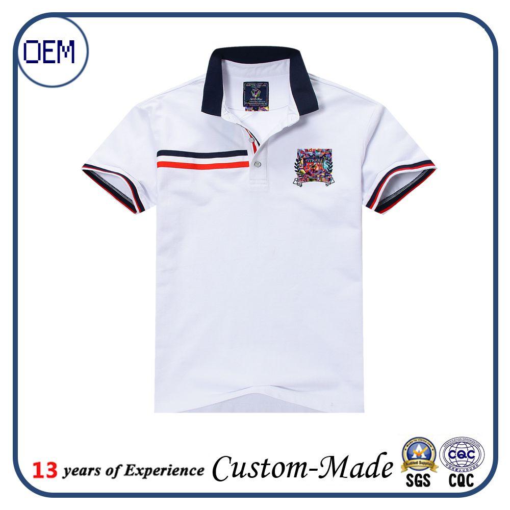 Children adlut size school uniform shirt employee work for Employee shirts embroidered logo