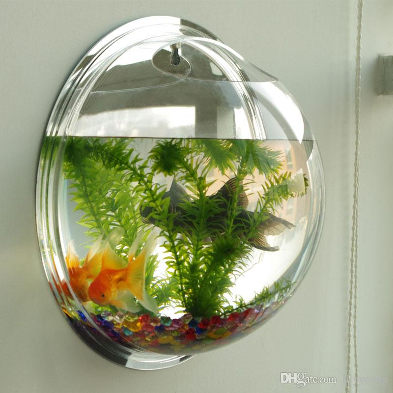 2017 Wall Mounted Tank Transparent Acrylic Strong Fish