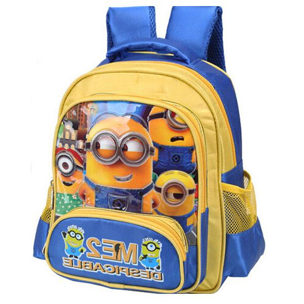 2015 New Design 13 Despicable Me 32cm School Bag 3d Children ...