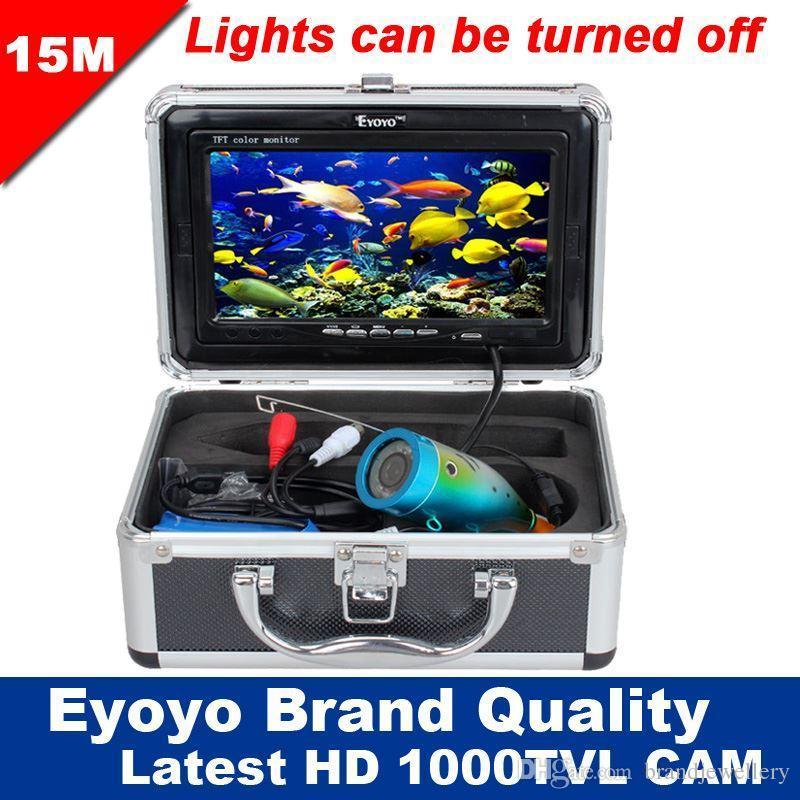 eyoyo original 15m professional fish finder underwater fishing, Fish Finder