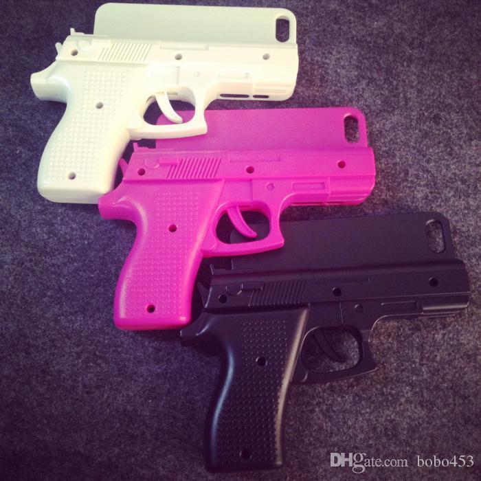 Coole pistole design silikon handyhülle für iphone 5/5s, iphone 6/6plus - prima-modulecom