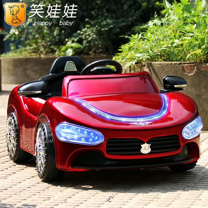 electric car for kids ride on with remote control rc music masirat with battery baby toys