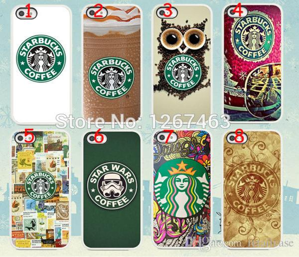 s star wars starbucks coffee hard white case cover iphone6 (4.7inch) plus (5.5inch) +