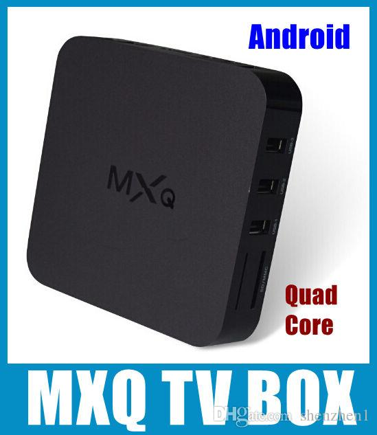 NEW MXQ Kodi Smart TV BOX Amlogic S805 Quad Core XBMC Media Android 4.4 Lecteur