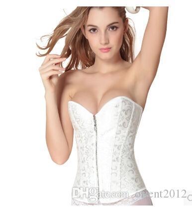 accessoires sous vtements de nouveau sexy bas prix de marie blanche undergarment mariage corsets - Sous Vetement Bustier Mariage