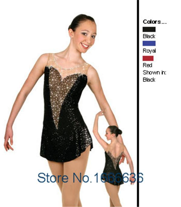 Hot Sales Girls Figure Skating Dresses Beautiful New Brand ...