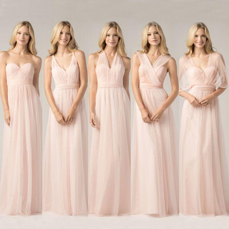 Junior Bridesmaid Dresses 2016 Long Bridesmaids Gowns Formal Dress ...