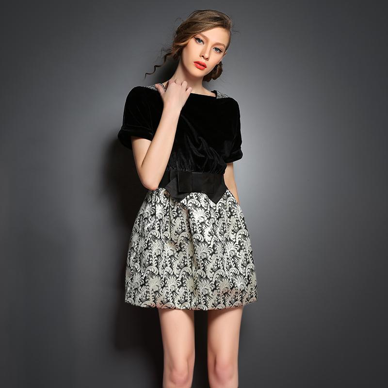 trendy korean style womens fashion long sleeve silm ol round-neck