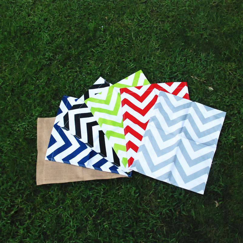 Wholsale Blanks Chevron Garden Flag Yard Flag In Decorate Your Garden Via  FedEx DOM106159 Garden Flag Chevron Flag Yard Decorations Online With  $450.0/Piece ...
