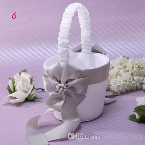Flower Girl Basket Kit : Wedding supplies flower girl baskets basket