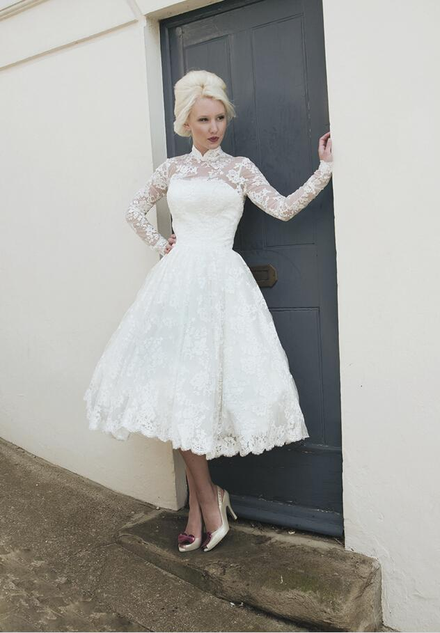 Discount 2016 modest long sleeves wedding dresses high for Expensive plus size wedding dresses