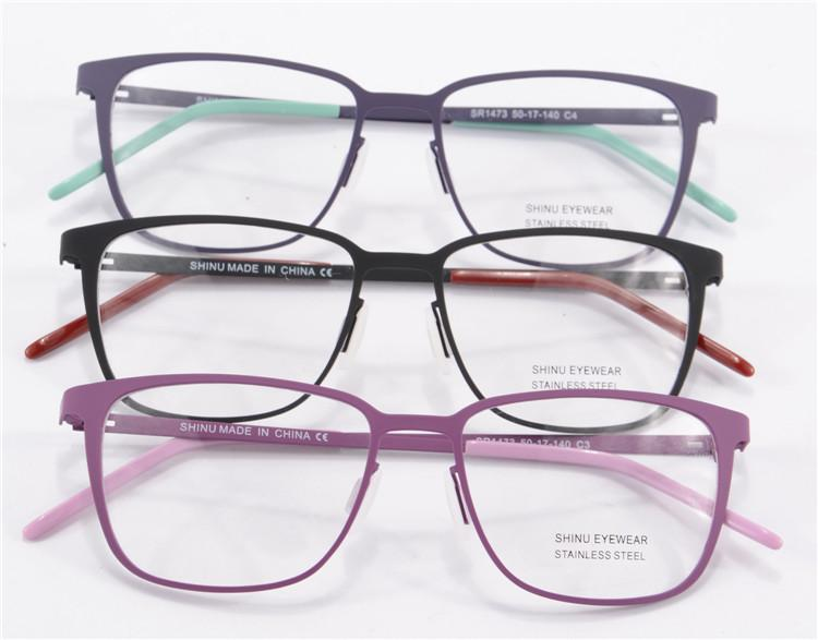 eyeglasses frames 2015  New 2015 Women Eyeglasses Frame Black/Blue/Purple Spectacle Frames ...