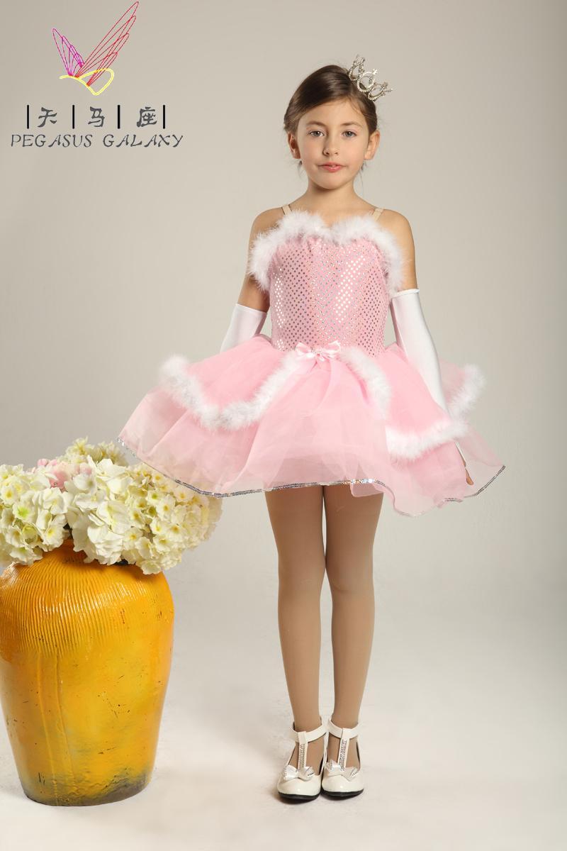 Leotardos Girls Ballerina Dress Balet Girls Flower Girl Dress ...