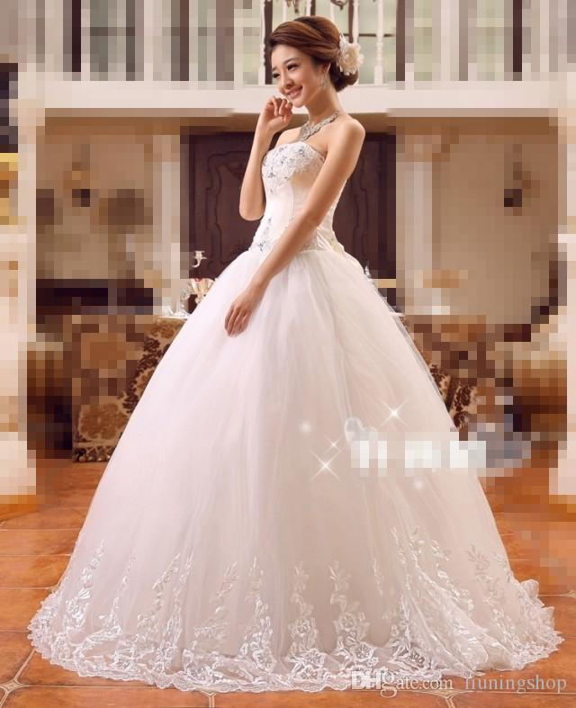 Discount 2016 New Design High Quality Strapless Tulle Appliques ...