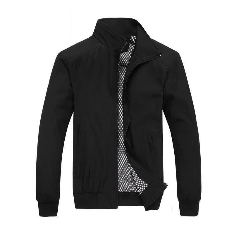 Cheap black windbreaker jacket