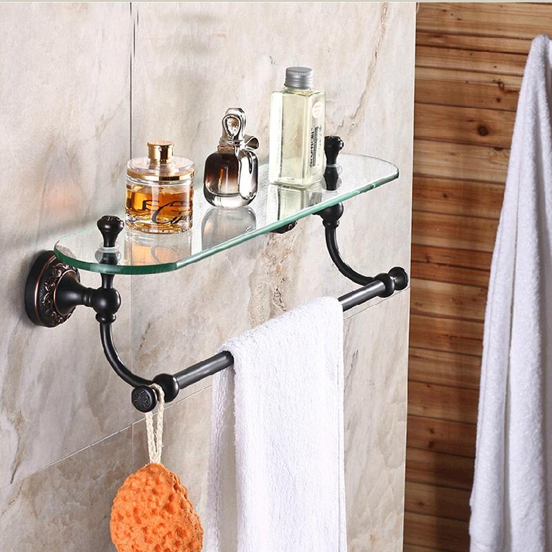 2017 Wholesale And Retail Luxury Bathroom Shelf Oil Rubbed