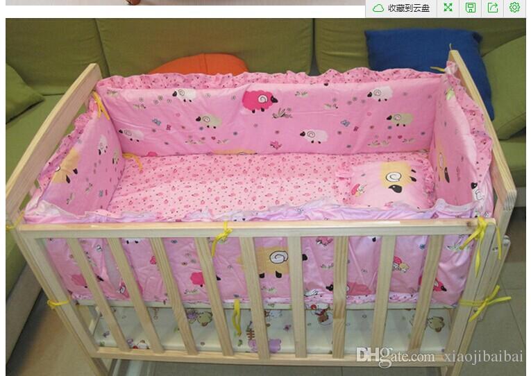 Wholesale Cuna de bebé ropa de dibujos animados juego de sábanas ...
