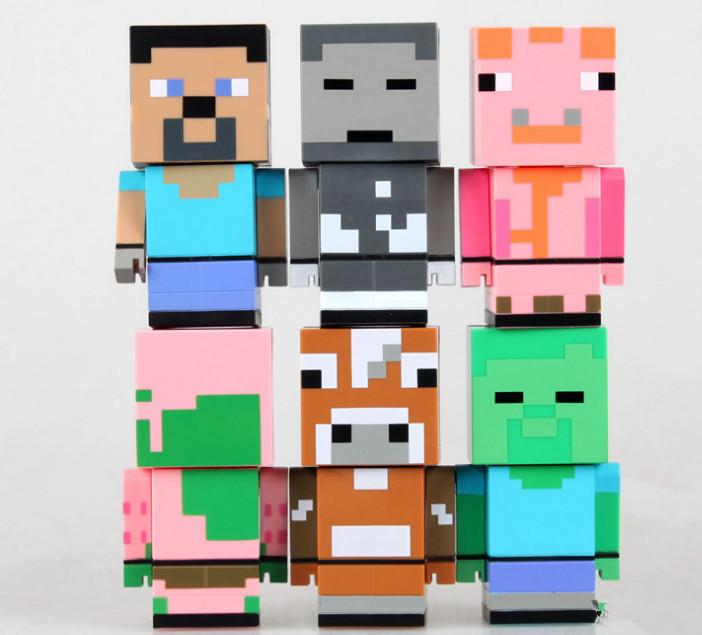 Minecraft Action Toys Minecraft Action Figures Toys