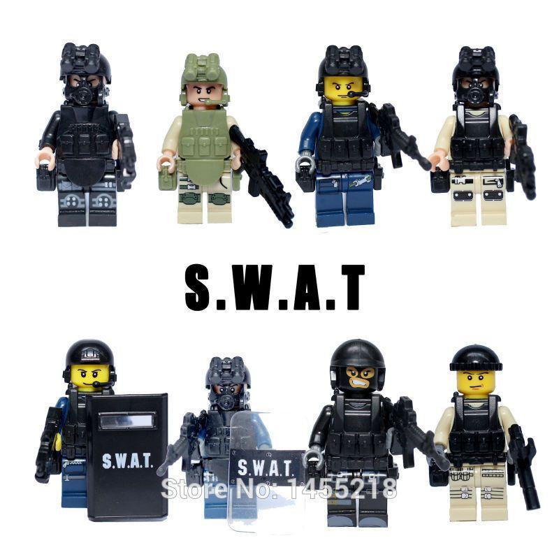Swat Team Shields Lele 78057 Swat Riot Shield
