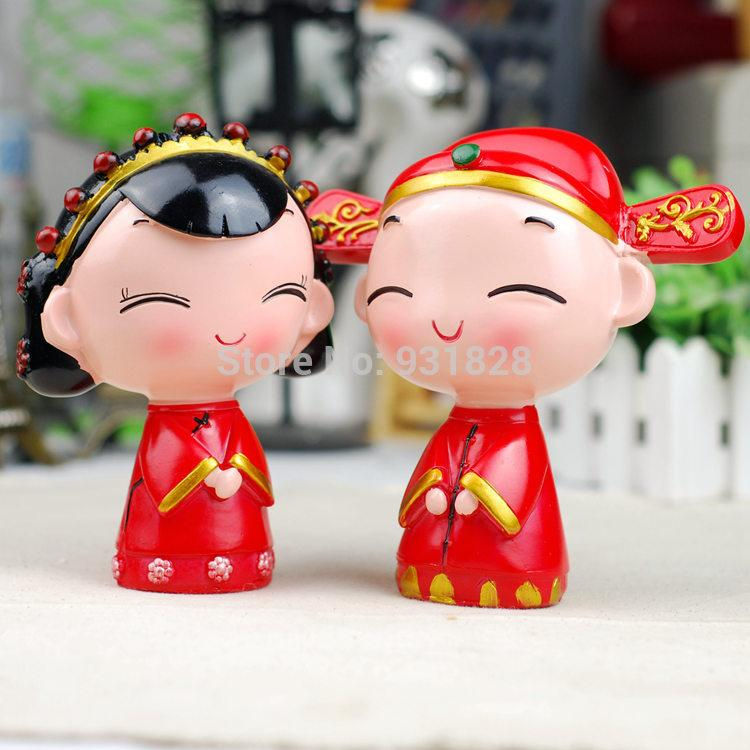 Chinese Wedding Cake Topper