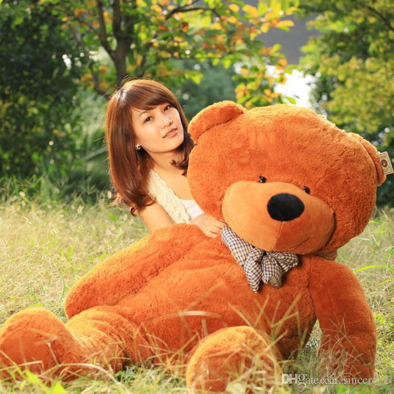 2018 hot sale 160cm life size doll plush large teddy bear for sale giant big soft toys teddy. Black Bedroom Furniture Sets. Home Design Ideas