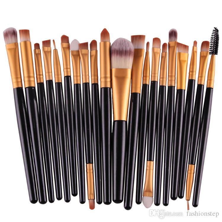 cosmetic makeup brushes set powder foundation eyeshadow eyeliner lip brush tool brand make up. Black Bedroom Furniture Sets. Home Design Ideas