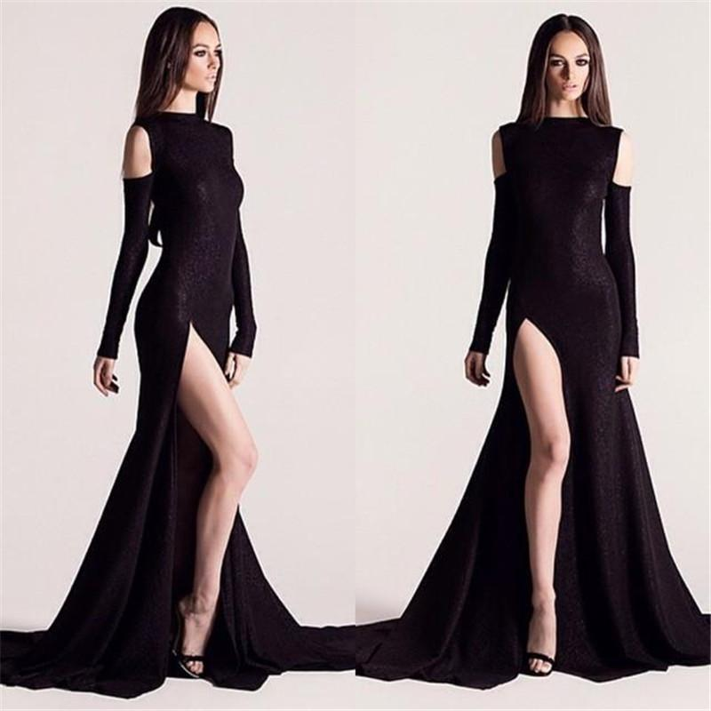 Long Dress With Slits On Both Sides