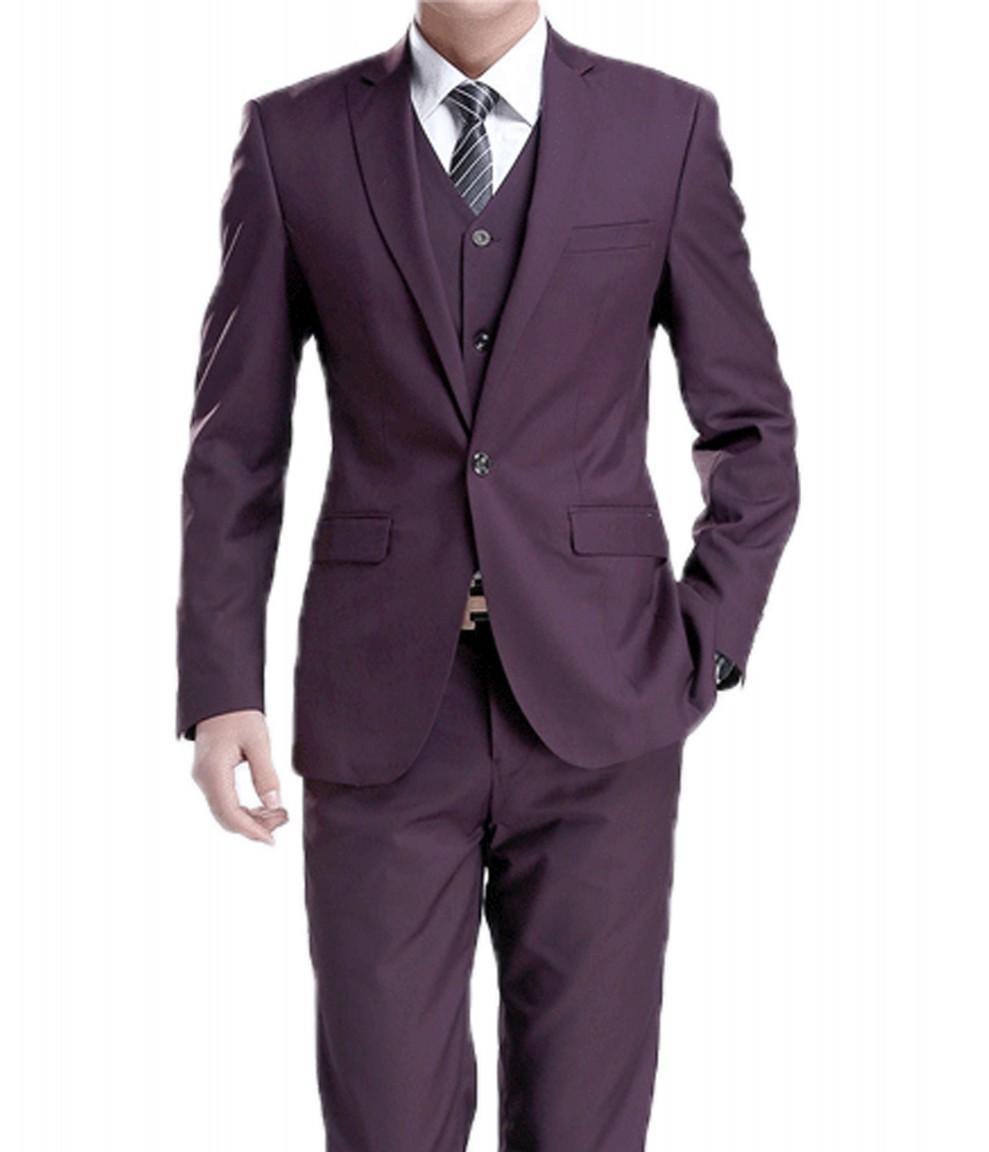 25 Best Wedding Tuxedo Purple Ideas On Pinterest