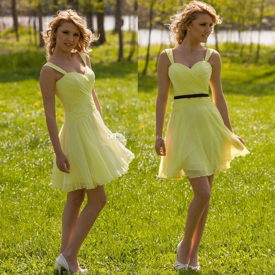 Yellow and black short bridesmaid dressesbridesmaid dressesdressesss yellow and black short bridesmaid dresses ombrellifo Gallery