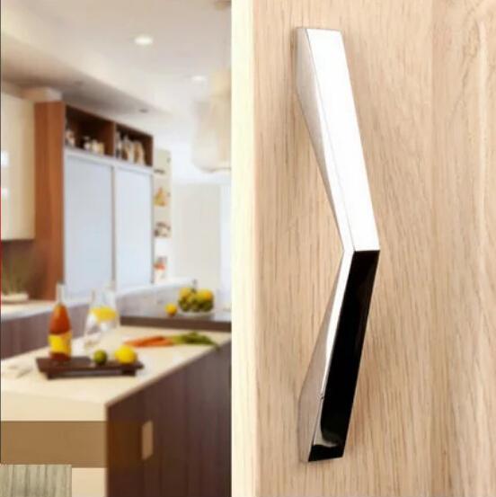Modern Furniture Handle Stainless Steel Knob For Drawer Desk Door Knob  Cabinet Pull Catcher For Closet Screws Door Handle Wardrobe Handle Cabinet  Handle ...