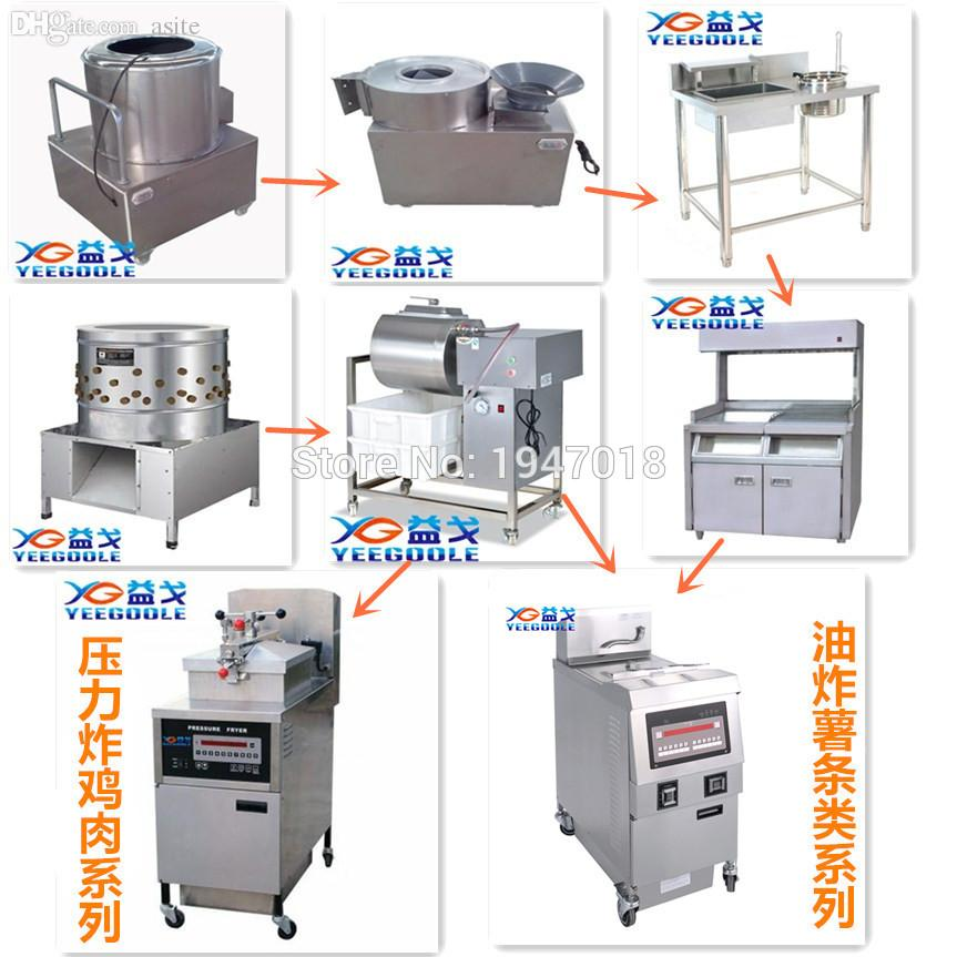 Wholesale Kfc Chicken Broaster Kfc Equipment Electric Pressure Fryer Electric Chicken Pressure