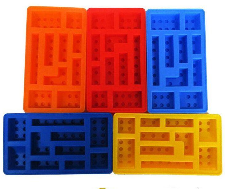 2017 building block soft silicone ice box ice cream mold for Ice block construction