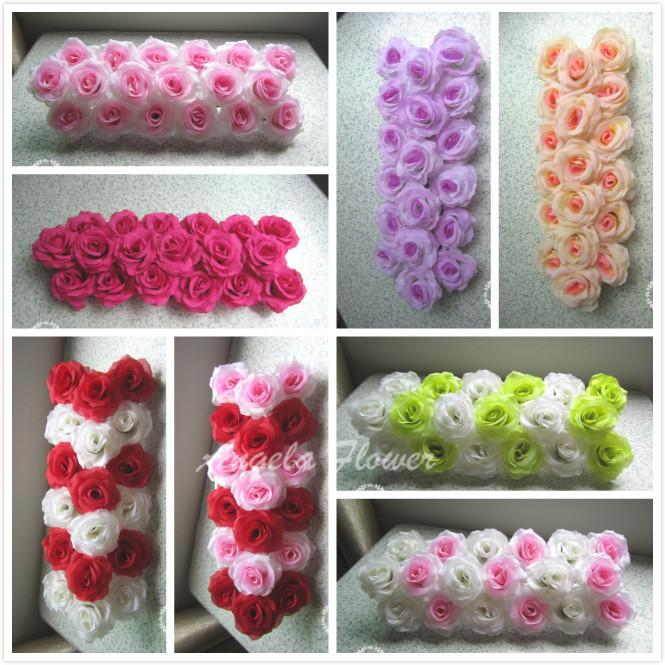 Fake Flowers At Wedding Tacky Best Quality Diy Artificial Flower Road Led